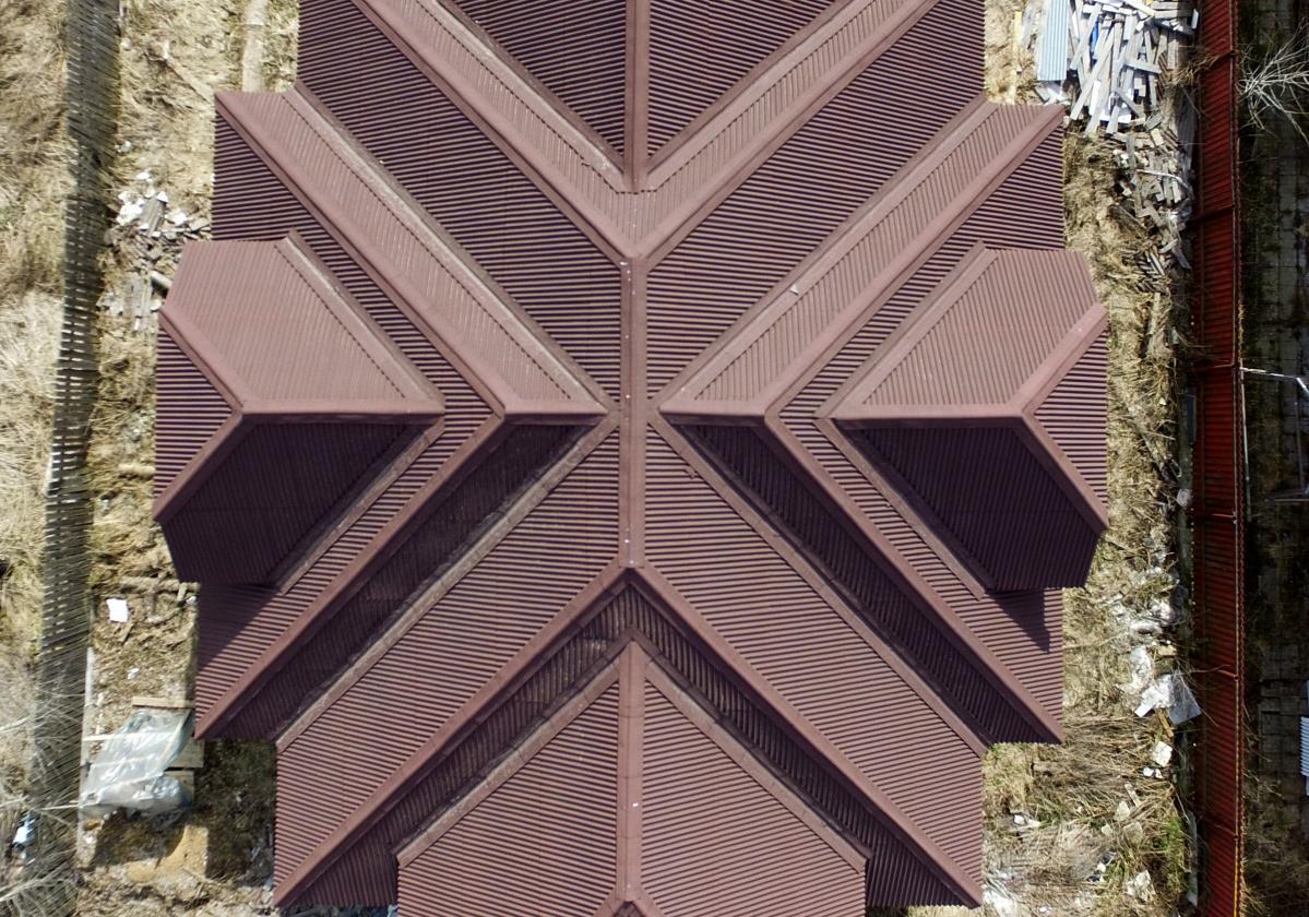Komplikovaná střecha / RD / Onduline